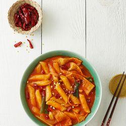 제이키친 야채 떡볶이 땡초 밀떡(2인분)