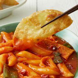 제이키친 야채 떡볶이 땡초 쌀떡(2인분)