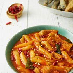 제이키친 야채 떡볶이 땡초 누들밀떡(2인분)