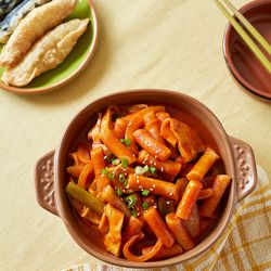 제이키친 야채 떡볶이 매운기본 현미떡(2인분)