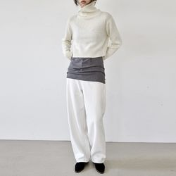 [pants] 화이트 데님 팬츠