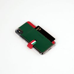 아이폰XS X 가죽 포켓 바 카드 케이스 이지포켓 H