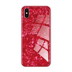 아이폰6S 글로리 펄 강화 글라스 하드 케이스 P058