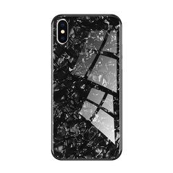 아이폰6 글로리 펄 강화 글라스 하드 케이스 P058