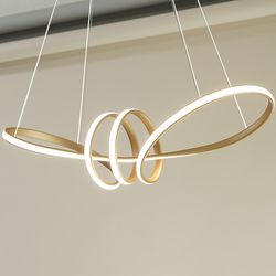 NEW 리본 LED 라지 식탁 주방등 펜던트 조명