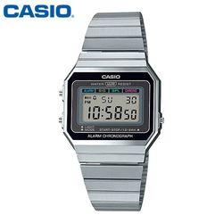 카시오 시계 A700W-1A 메탈밴드 공용 전자시계 패션시계