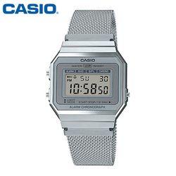 카시오 시계 A700WM-7A  메탈밴드 공용 전자시계 패션시계