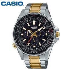 카시오 시계 MTP-SW320SG-1A  메탈밴드 남성용 패션시계