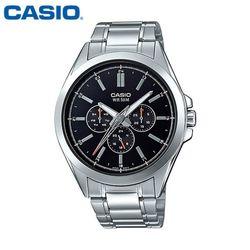 카시오 시계 MTP-SW300D-1A 메탈밴드 남성용 패션시계