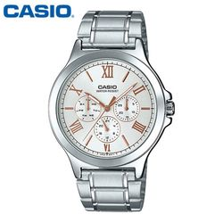 카시오 시계 MTP-V300D-7A2U 메탈밴드 남성용 패션시계