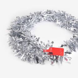 크리스마스 실버 장식모루