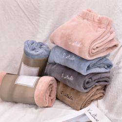 극세사 수면바지 6color 겨울 잠옷바지 잠옷