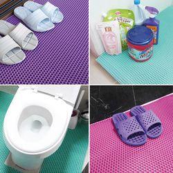 욕실매트 미끄럼방지매트 화장실매트 소 120x60cm 2개