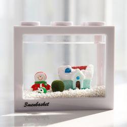 국산 마리모 키우기 겨울왕국 DIY 세트-마리모(소)