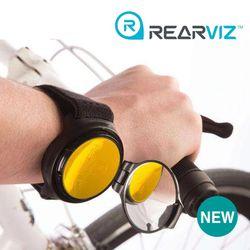 레어비즈(REARVIZ)자전거 후사경 (백미러) 옐로우
