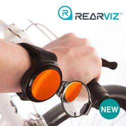 레어비즈(REARVIZ)자전거 후사경 (백미러) 오렌지
