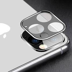 아이폰11 pro max 후면카메라 렌즈프레임 메탈 풀커버 보호필름