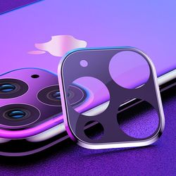 아이폰11 후면카메라 렌즈프레임 메탈 풀커버 보호필름