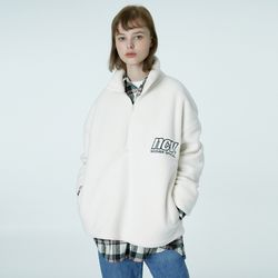 NCV embroidery anorak-ivory