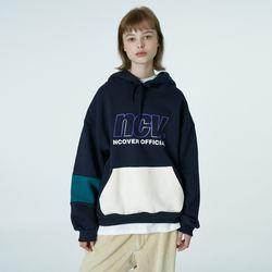 Big ncv logo hoodie-navy