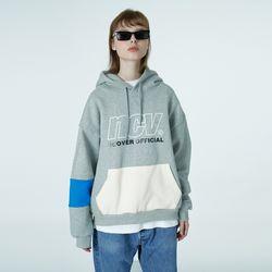 Big ncv logo hoodie-grey