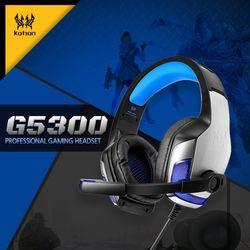 게이밍특화 고음질 LED라이트 컨트롤톡 헤드셋 G5300