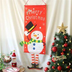 크리스마스 입체현수막 (눈사람)