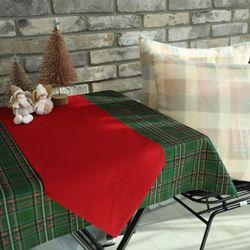 크리스마스 식탁보(테이블보) 러너 세트