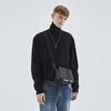 MOIST TOUCH TURTLENECK KNIT BLACK