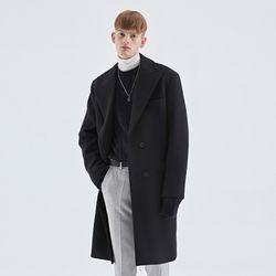 TAILORED DOUBLE COAT BLACK
