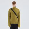 WARM TURTLENECK KNIT YELLOW GREEN