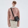 CREAMY CABLE KNIT SWEATER PINK