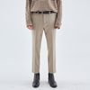 MINIMAL STRAIGHT FIT SLACKS BEIGE
