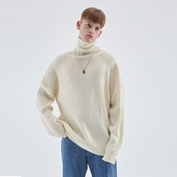 TURTLENECK LONG SLEEVE KNIT IVORY