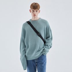 LONG SLEEVE OVER KNIT MINT