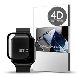 스킨즈 애플워치5 4D 풀커버 강화유리 필름 44mm 1매