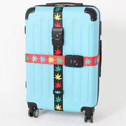 TSA 3다이얼 여행가방 터짐방지 가방보호벨트 - 메이플