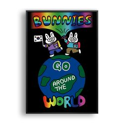 BUNNIES GO AROUND THE WORLD