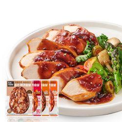 슬라이스 소스 닭가슴살 혼합 150gx50팩
