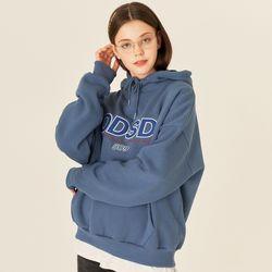 오드스튜디오 ODSD 로고 후드 티셔츠 - DUST BLUE