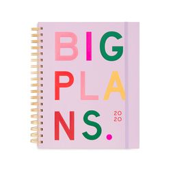 LARGE 12-MONTH ANNUAL PLANNER - BIG PLANS (2020년)