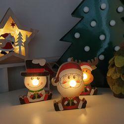 산타 눈사람 루돌프 led조명