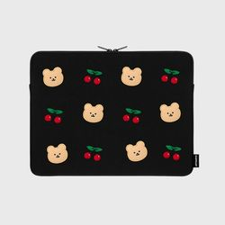 Dot cherry bear-13inch notebook pouch(13