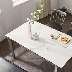메르비 세라믹 4인용 식탁테이블
