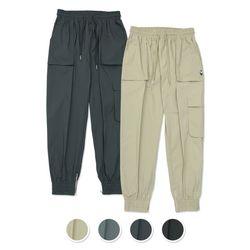 [패키지] (UNISEX)Mild Easy Zip-up Cargo-Jogger Pants 2Pack