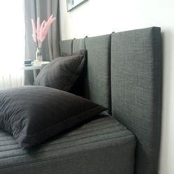 슬림 침대 헤드보드 6color -Long 더블&퀸+솜