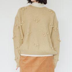 cherry round sweater (2colors)