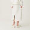 SWEAT SKIRT WHITE  PLAY SUIT