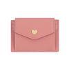 샤르망 하트 가죽 카드지갑 핑크(AG2C9802DAPP)
