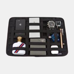 밴딩 포켓 파우치 가방 수납정리 S M L 태블릿 수납